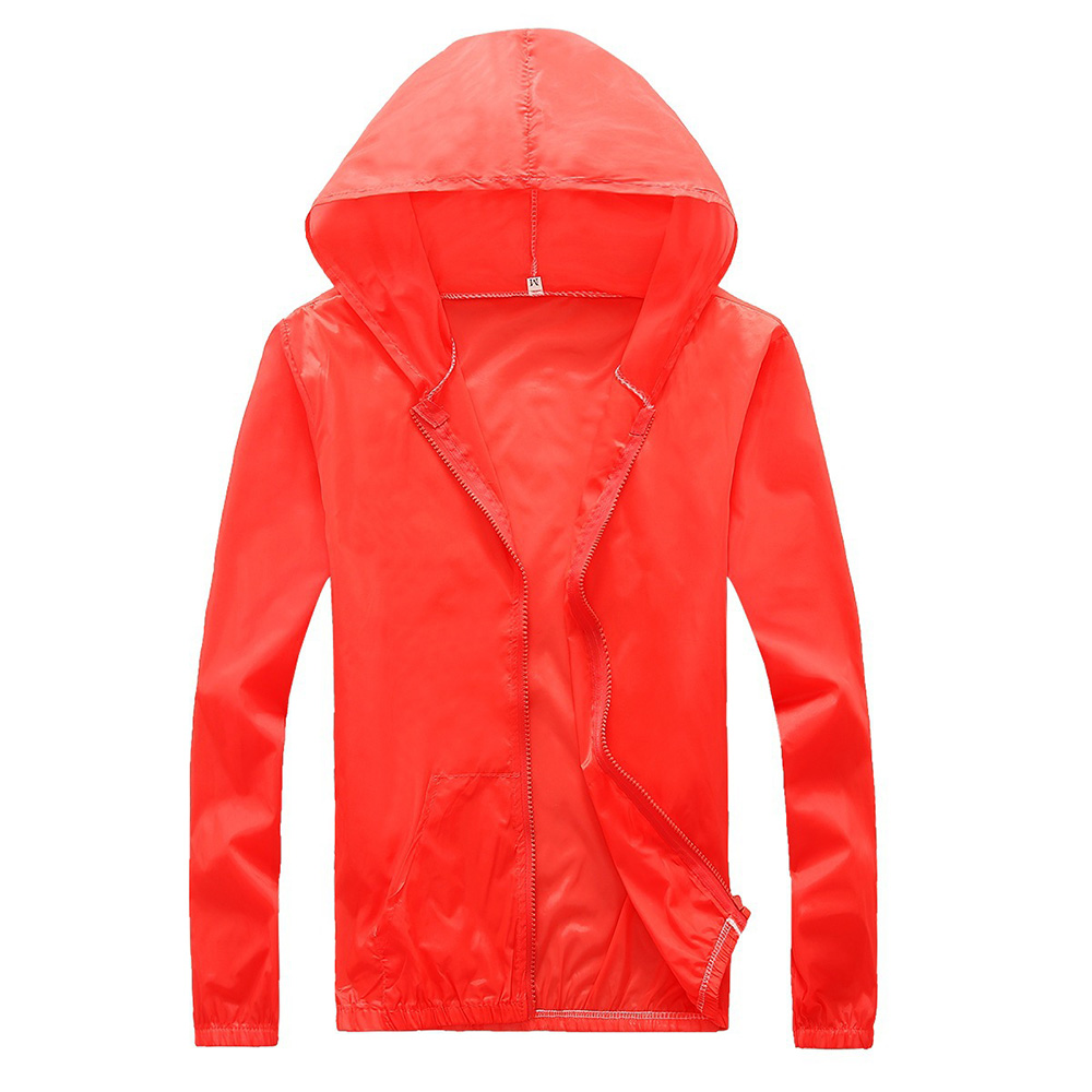 Cloudstyle Sun UV Protection Clothing Unisex Ultra Light Gradient Breathable Outdoor Sport Summer Waterproof Quick Dry Hoodie