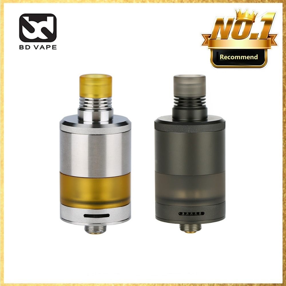 In Stock  BDvape Precisio MTL RTA With 2.7ml Capacity &  22mm RTA Atomizer Electronic Cigarette MTL And DL Vaping Tank Vs Zeus X