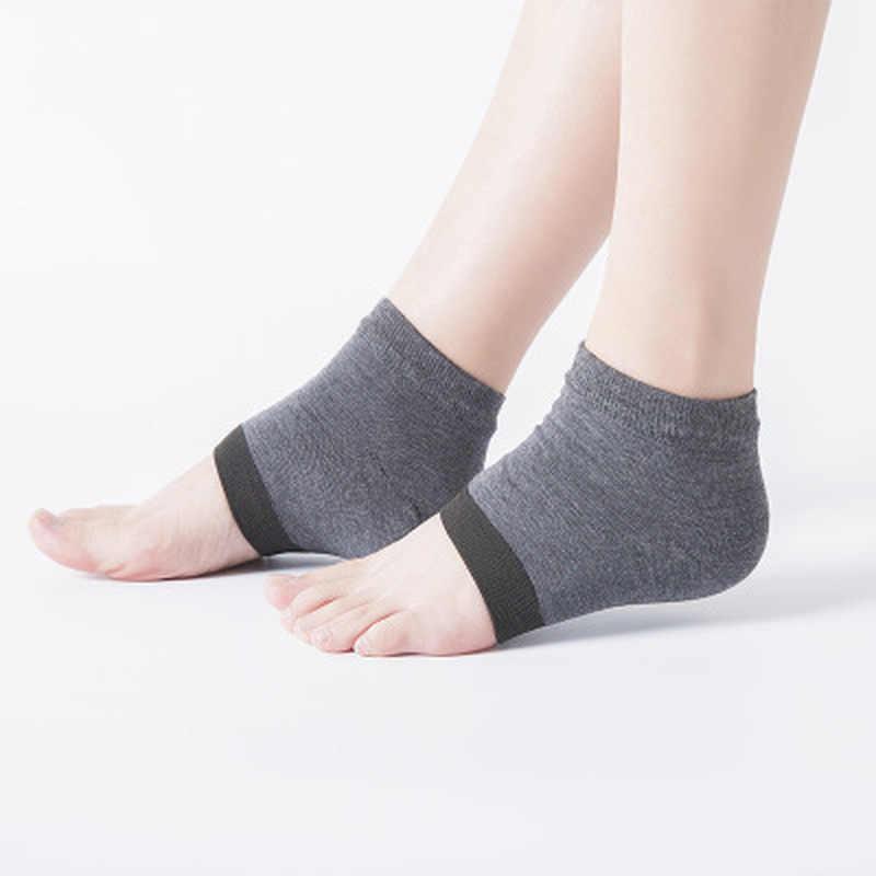 1 Paar Nieuwe Gel Hiel Sokken Moisturing Spa Gel Sokken Voetverzorging Gebarsten Voet Droge Hard Skin Protector Groothandel Of retail