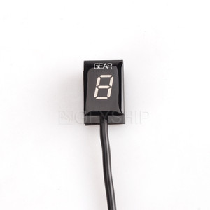 Image 4 - For Buell ALL With Digital Trip / ODO ALL YEARS Motorcycle Gear Indicator 1 6 Level Digital Gear Meter