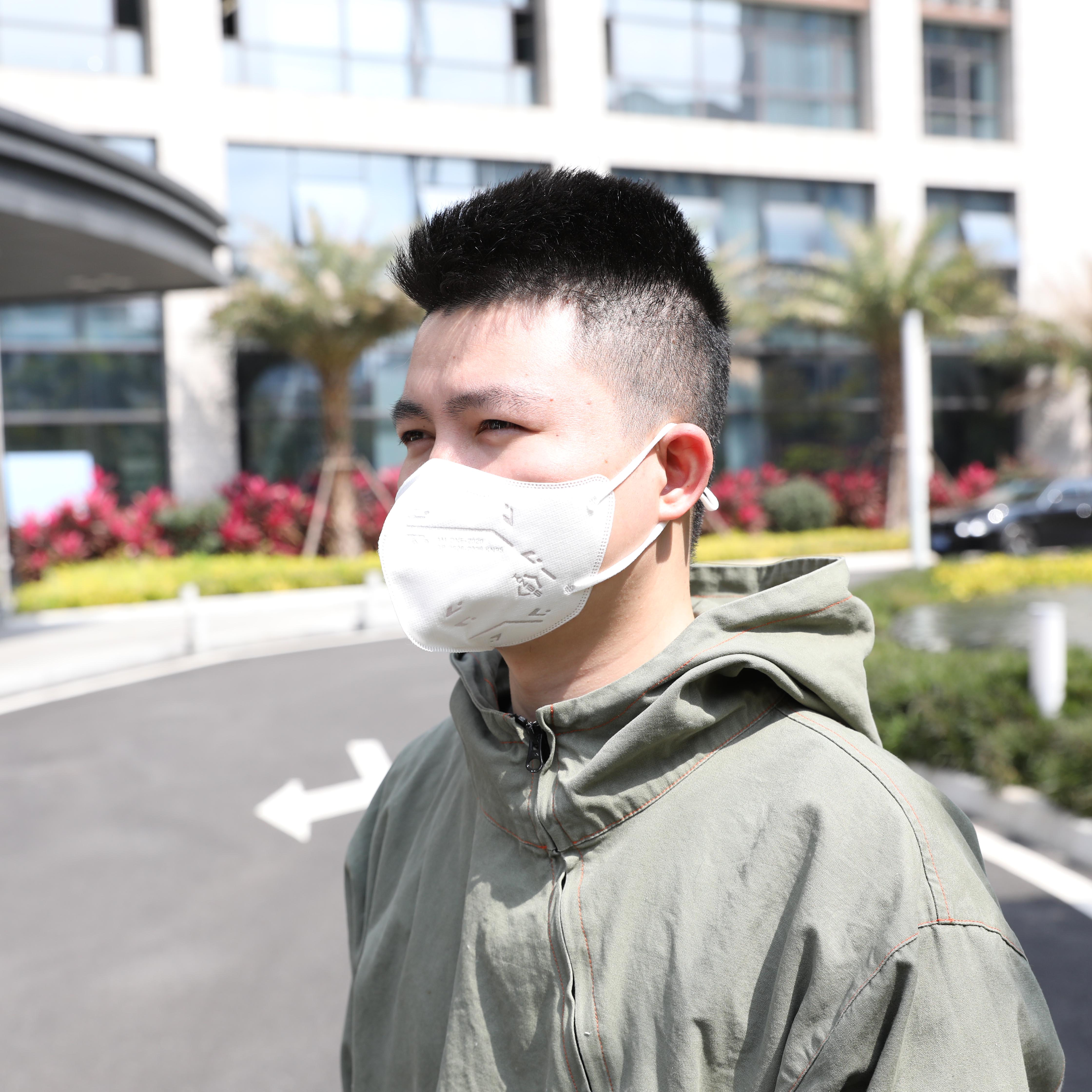 Fast Ship 5pcs Youpin AIRMOTION Protective Face Mask Efficient Filtration Blocking Haze Dust The Ultra Breathable Mouth Cover
