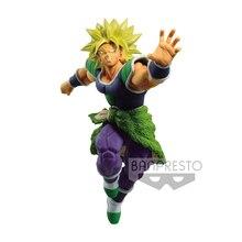 Tronzo Original Banpresto Dragon Ball Super MATCH MAKERS Broly Super Saiyan Movie Broly SSJ PVC Action Figure Model Doll Toys