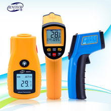 BENETECH Digital thermometer GM320~GM900 non contact infrared thermometer temperature gun with LCD backlight display