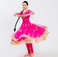 Женский костюм с вышивкой в индийском этническом стиле комплект