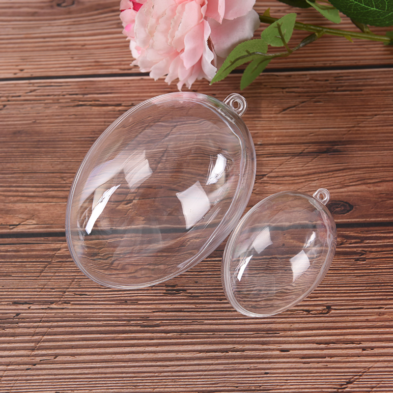 3 Sizes Eggs Shape Reusable Crafting Home Hotel Decor For Christmas Gift Bath Care Tool DIY Bath Plastic Clear Mould