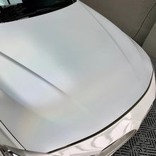 Sunice Matte Silver/White Chameleon Rainbow Laser Car Wrap Vinyl Car Body Decor Protection Film Sticker Water Proof