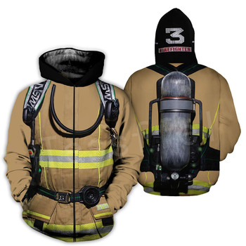 Tessffel Firefighters Suit Firemen superhero Harajuku Tracksuit NewFashion 3DPrint Zipper/Hoodies/Sweatshirt/Jacket/Men/Women 14 2