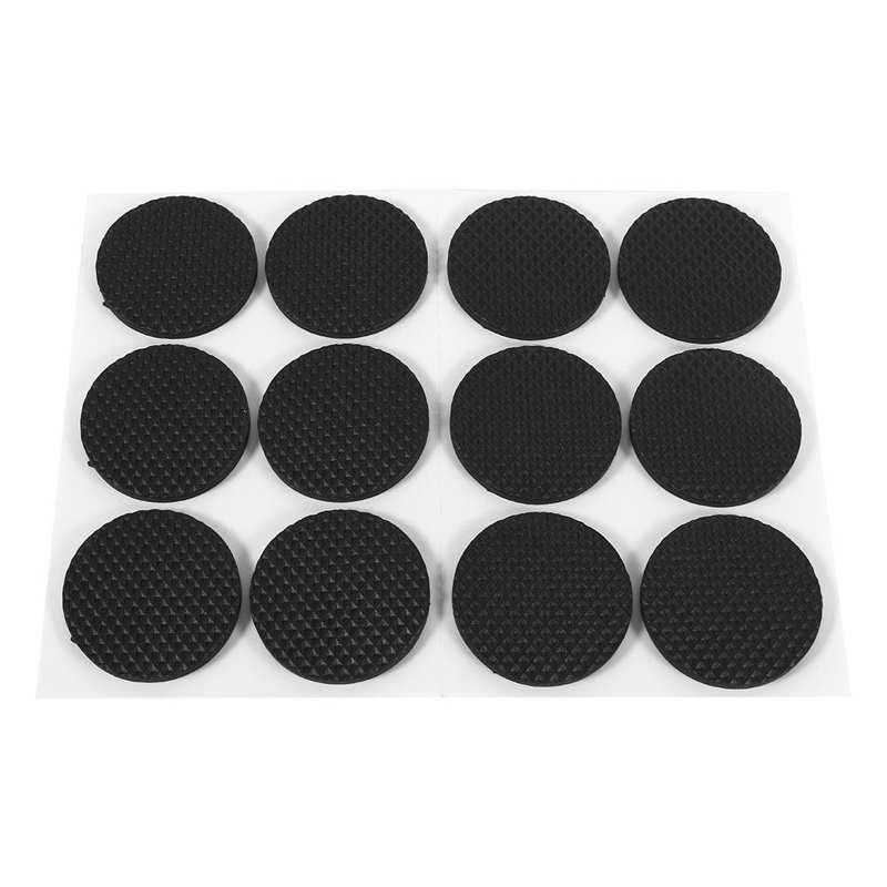 Cushion 12pcs Black Self Adhesive Floor, Floor Protectors For Furniture