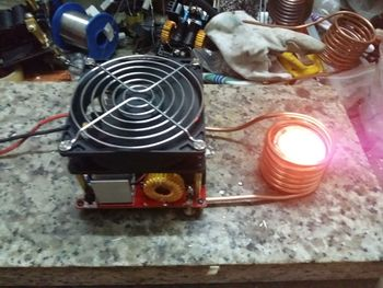 ZVS High Frequency Induction Heating with Over-current Protection Input Voltage 18V-50V - discount item  6% OFF Home Appliance Parts