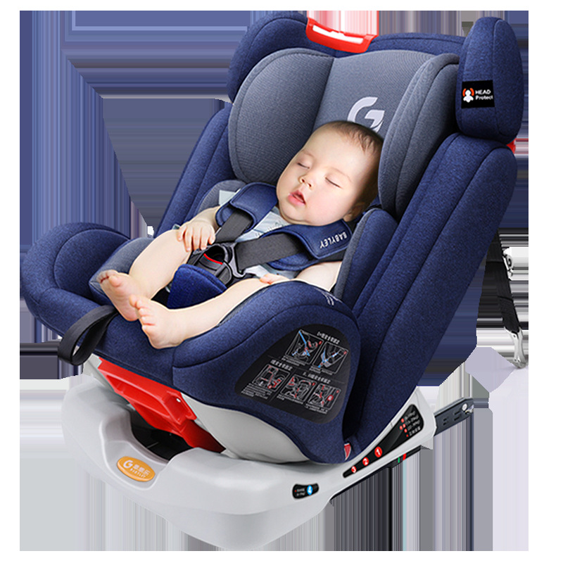 Free Shipping BABYLEY Children's Safety Seat Car With 0-12 Year-old Baby Car Sitting In Isfix