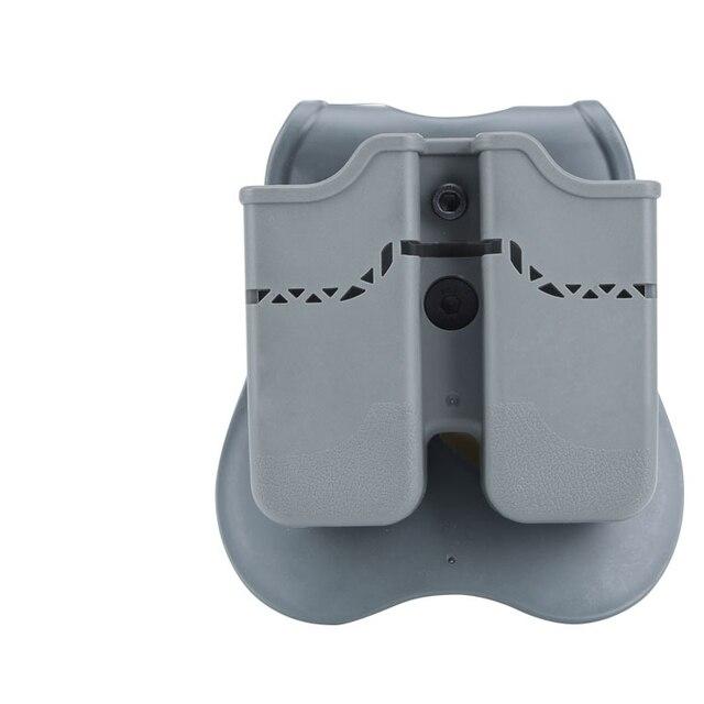 Фото тактический пистолет двойной мешочек для glock 17 19 colt 1911 цена