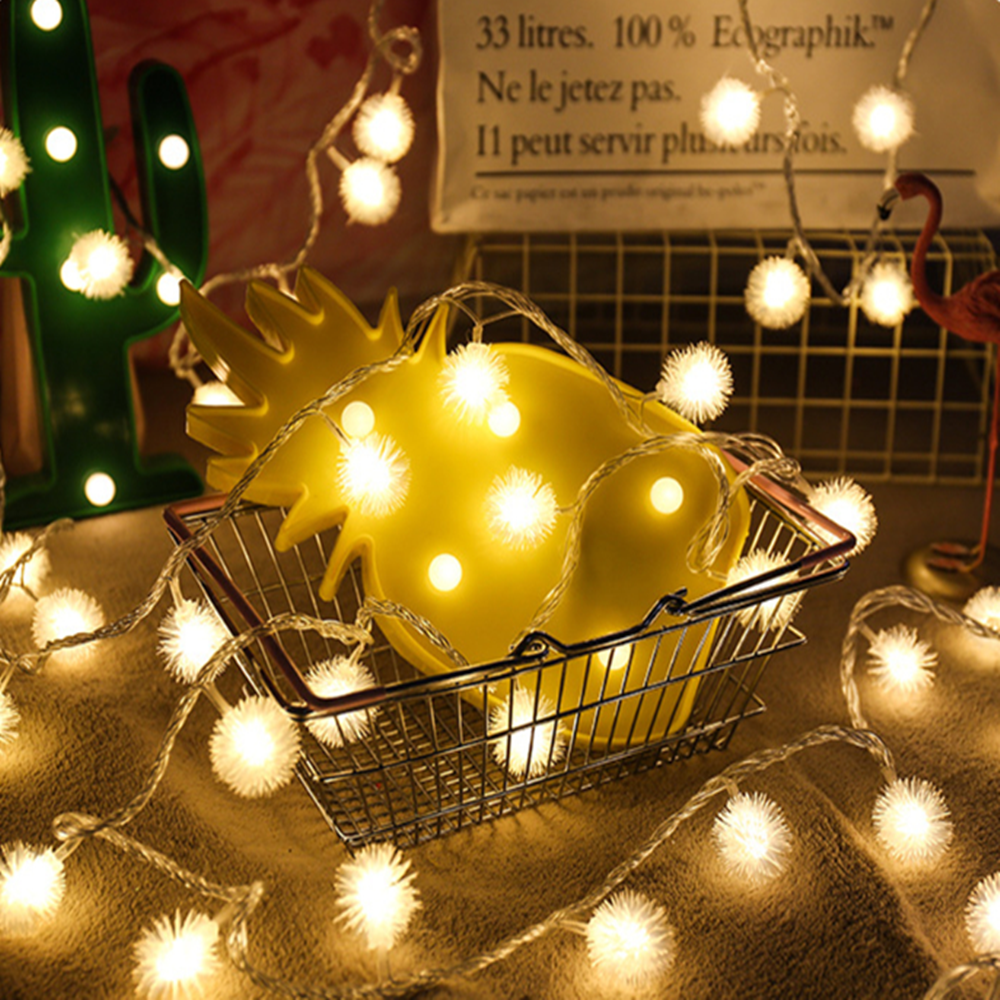 Atmospheric Led Small Lights Decorative Lights 3M 6M 10M Lamp Chain Decorative GardenLights Party Wedding Lights