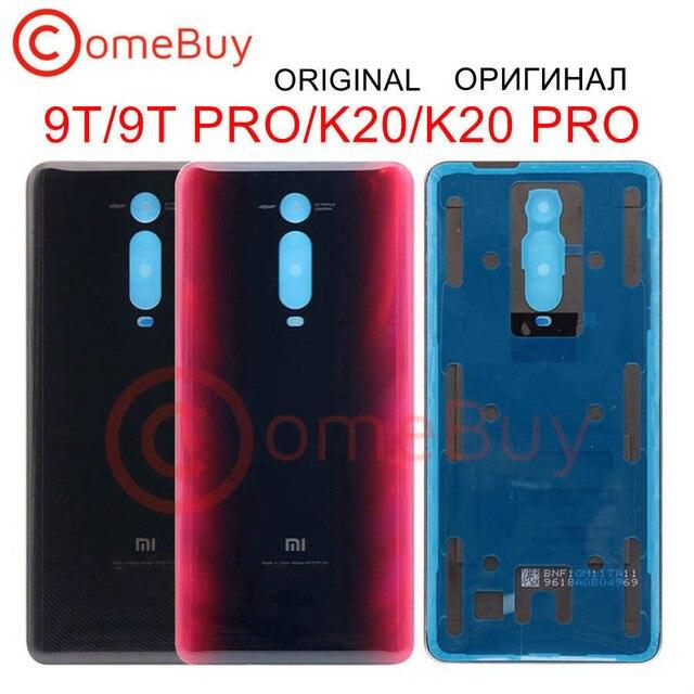 מקורי חדש חזרה זכוכית עבור Xiaomi Mi 9T סוללה כיסוי Redmi K20 אחורי דלת שיכון מקרה עבור Xiaomi Mi 9T פרו חזרה סוללה כיסוי