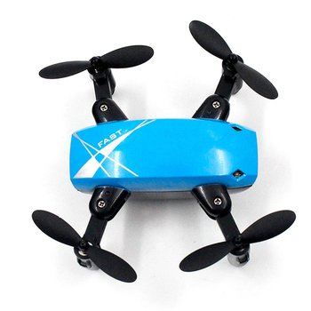 цена на S9HW Mini RC Drone With Camera HD 0.3MP Foldable RC Quadcopter Altitude Hold Helicopter WiFi FPV Headless Aircraft