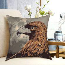 Eagle Eye In The Big Smoke Throw Pillow Cushion Cover Decorative Pillowcases Case Home Sofa Cushions 40x40|45x45cm(Double Sides)