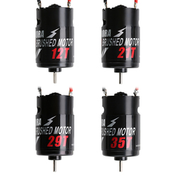 INJORA 1PCS 12T 21T 29T 35T 550 Brushed Motor for 1/10 RC Rock Crawler Axial SCX10 90046 AXI03007 JL Traxxas TRX-4