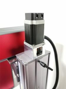 Image 4 - 送料無料オートフォーカス 30 ワットスプリットファイバーレーザーマーキングマシンレーザー彫刻機械銘板レーザーマーキングステンレス鋼