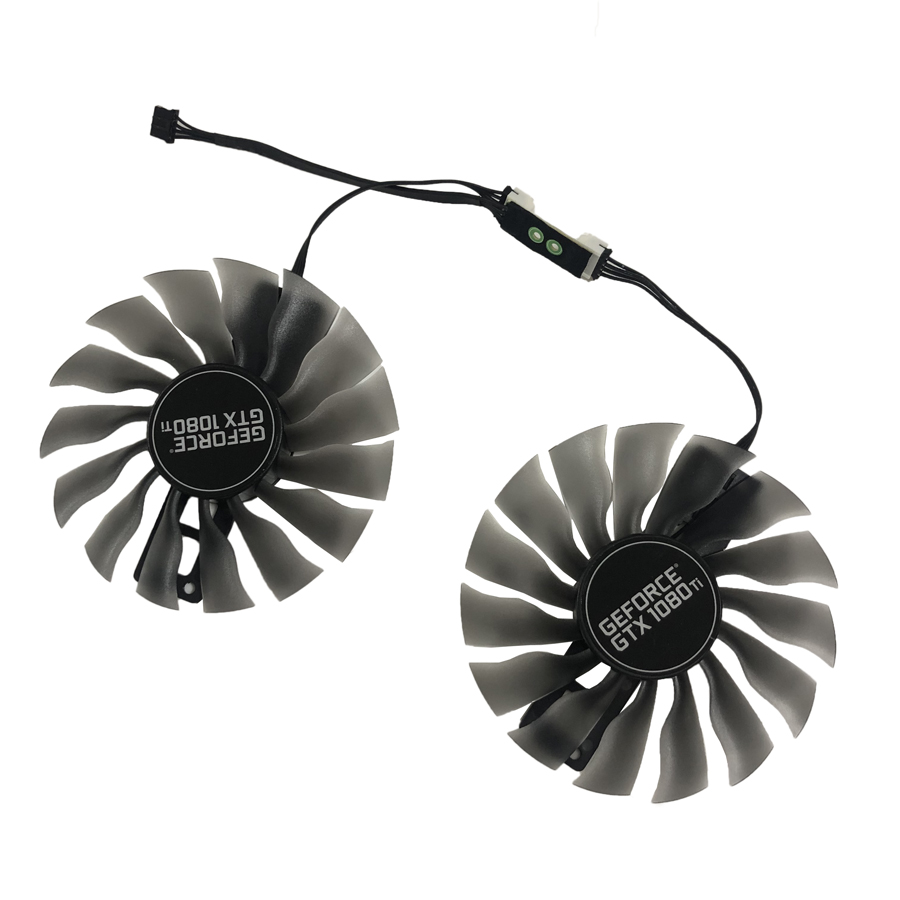 95MM FD10015H12S GTX 1080 Ti GPU Cooler VGA Card Fan For GeForce Palit GTX1080ti Super JetStream Graphics Card Cooling image