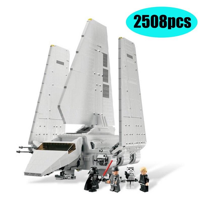 In Stock 35005 Lepining Star Wars The Imperial Shuttle Model Building Blocks Enlighten Figure Toys For Children Christmas Gift
