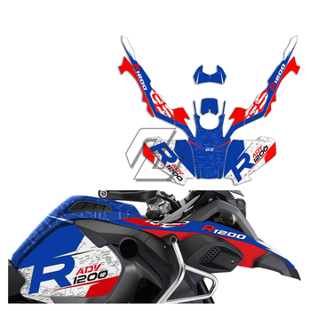 Motorcycle Decals Case for BMW R1200GS Adventure R1200 ADV 2014-2017 Anti-UV