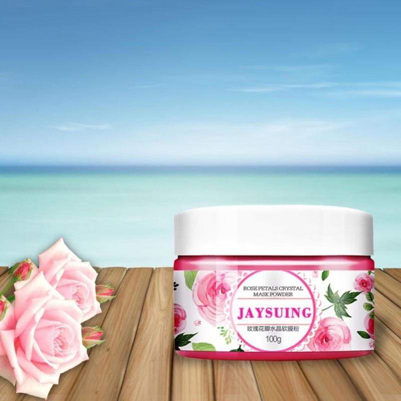 Natural Organic Rose Petal Crystal Soft Powder Brightening Long-lasting Moisturizing Mask Powder Facial Mask
