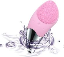 Silicone Electric Facial Brush Face Care Tool Sonic Facial Machine, Waterproof, USB Rechargeable for All Skin Types,Foreoing 2