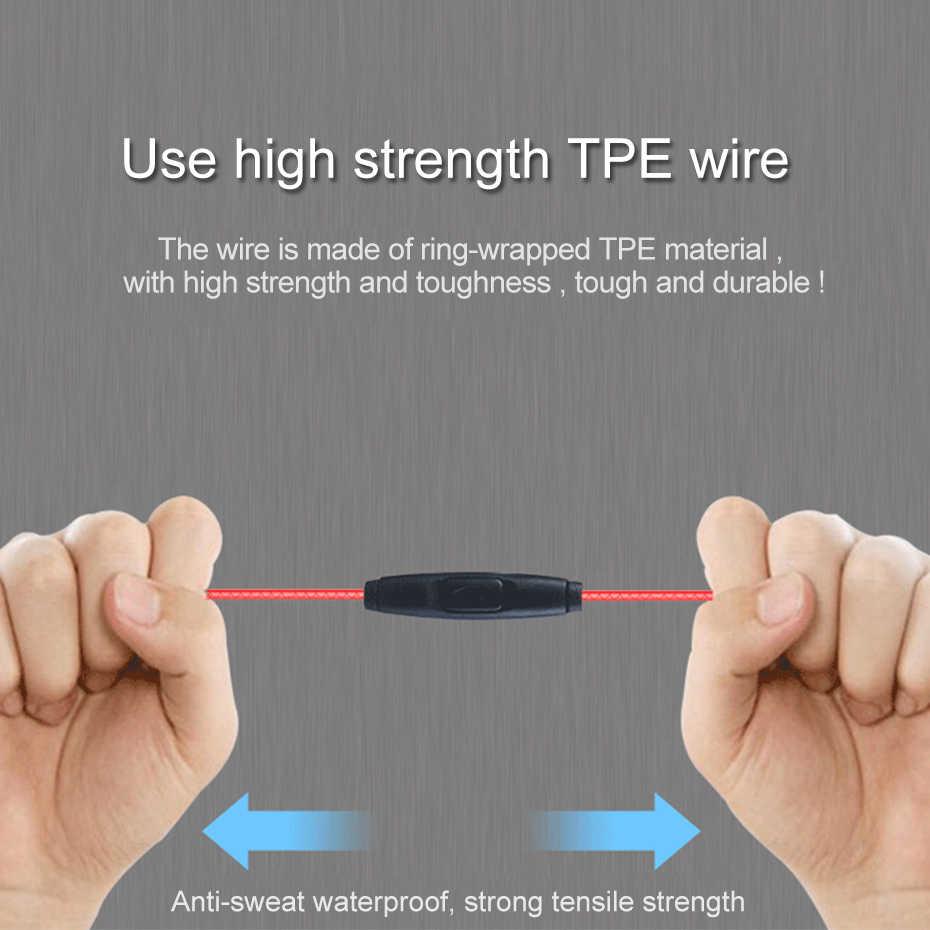 Auriculares Inear para juegos de ordenador con micrófono de 3,5mm auriculares bajos estéreo HIFI para teléfono para reproductor de juegos PS3 PS4