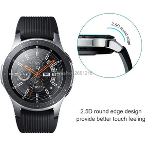 Image 5 - Diameter 22 46mm Round Tempered Glass 9H 2.5D Watch Screen Protector Film for Samsung Huawei Honor AMAZFIT Garmin DW Casio Timex