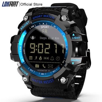 LOKMAT Smart Watch bluetooth digital men clock Pedometer smartwatch Waterproof IP67 Sport For ios Android Phone 1