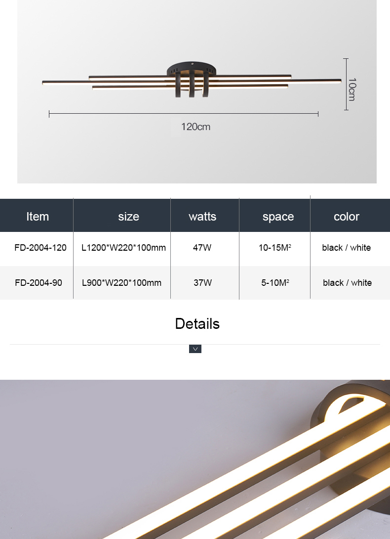 H9f9510c6ec89471bb56105a4b7be5527L Hallway Pendant Light | LED Ceiling Lights | New Modern Led Ceiling lights for bedroom corridor foyer living room Matte Black White 90-260V Modern Led Ceiling lamp Fixtures