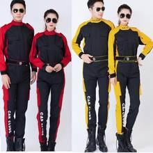 Uniforme de trabajo para hombre y mujer, chaqueta de talla grande de 5 colores, pantalones, ropa de trabajo, taller, pintura de lijado, ropa para reparar coches