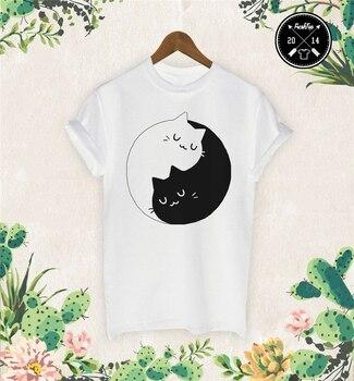 Kitten Kittens T Shirt Meow I Love Cats Crazy Cat Lady Sweet Yin Yang Unicorn 26Th 30Th 40Th 50Th Birthday Tee Shirt