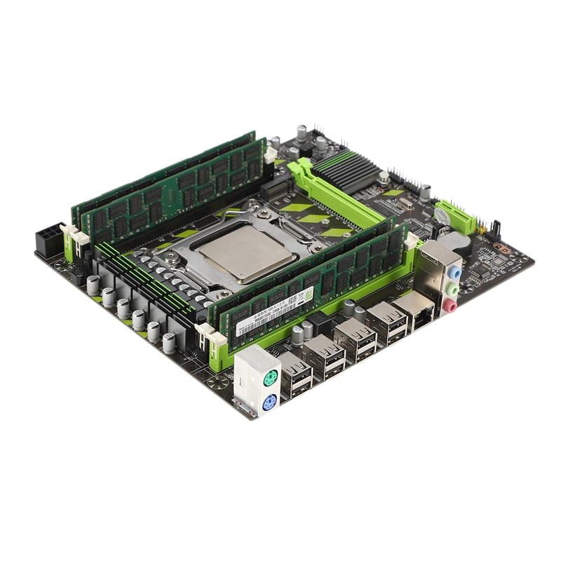 X79 Motherboard Lga 2011 4xDdr3 Dual Channel 64Gb Memory Sata 3.0 Pci-E 8Usb For Desktop Core I7 Xeon E5