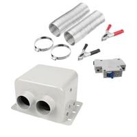 Kit do calefator do carro de 12v 500w  degelo rápido do aquecimento de alta potência para o inverno do pára-brisas do automóvel