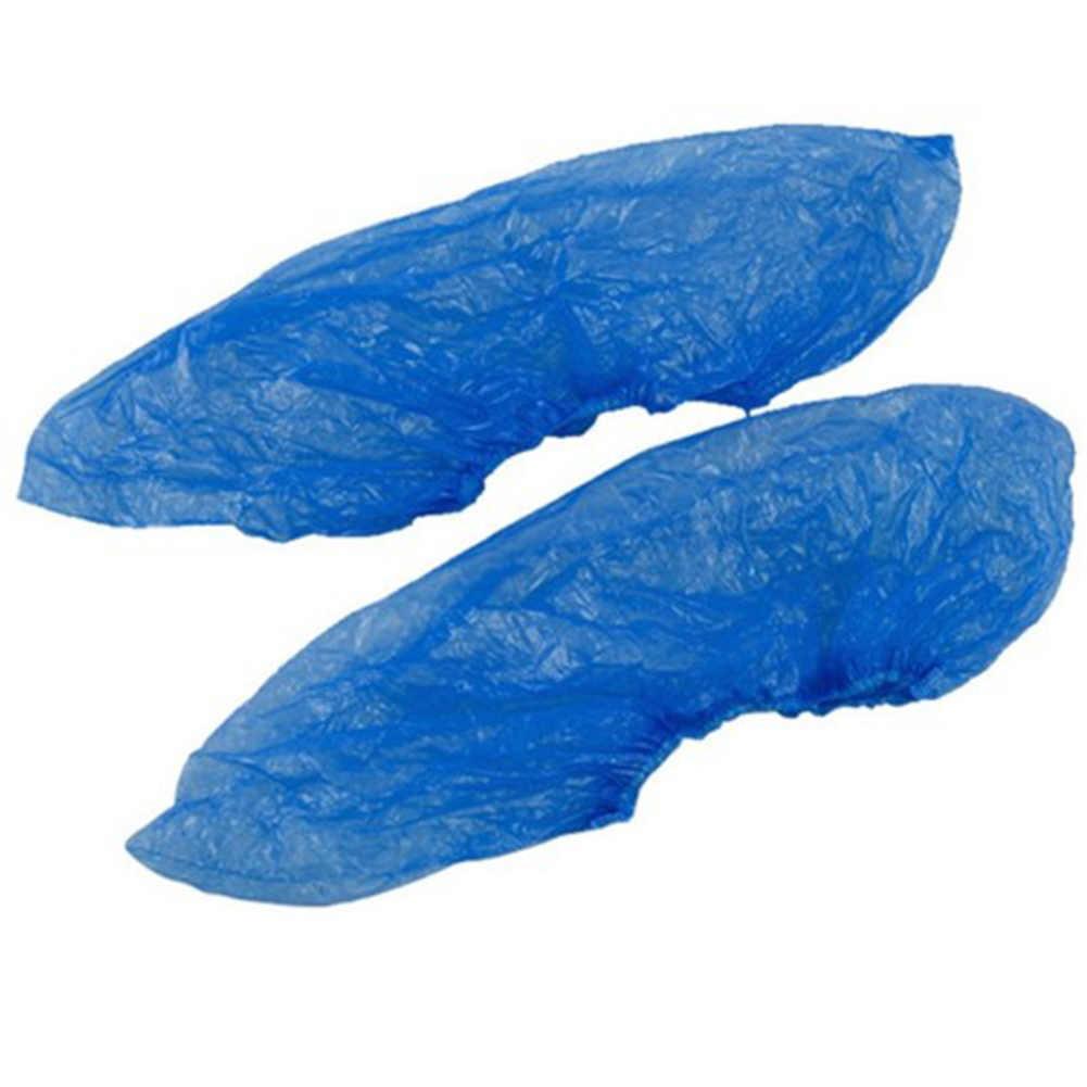 20 ADET Tek kullanımlık Su Geçirmez Ayakkabı Kapakları Yağmur Lastik Çizme Ayakkabı Koruyucu Kılıf Kaliteli Plastik Tek Kullanımlık Galoş Ayakkabı Aksesuarları
