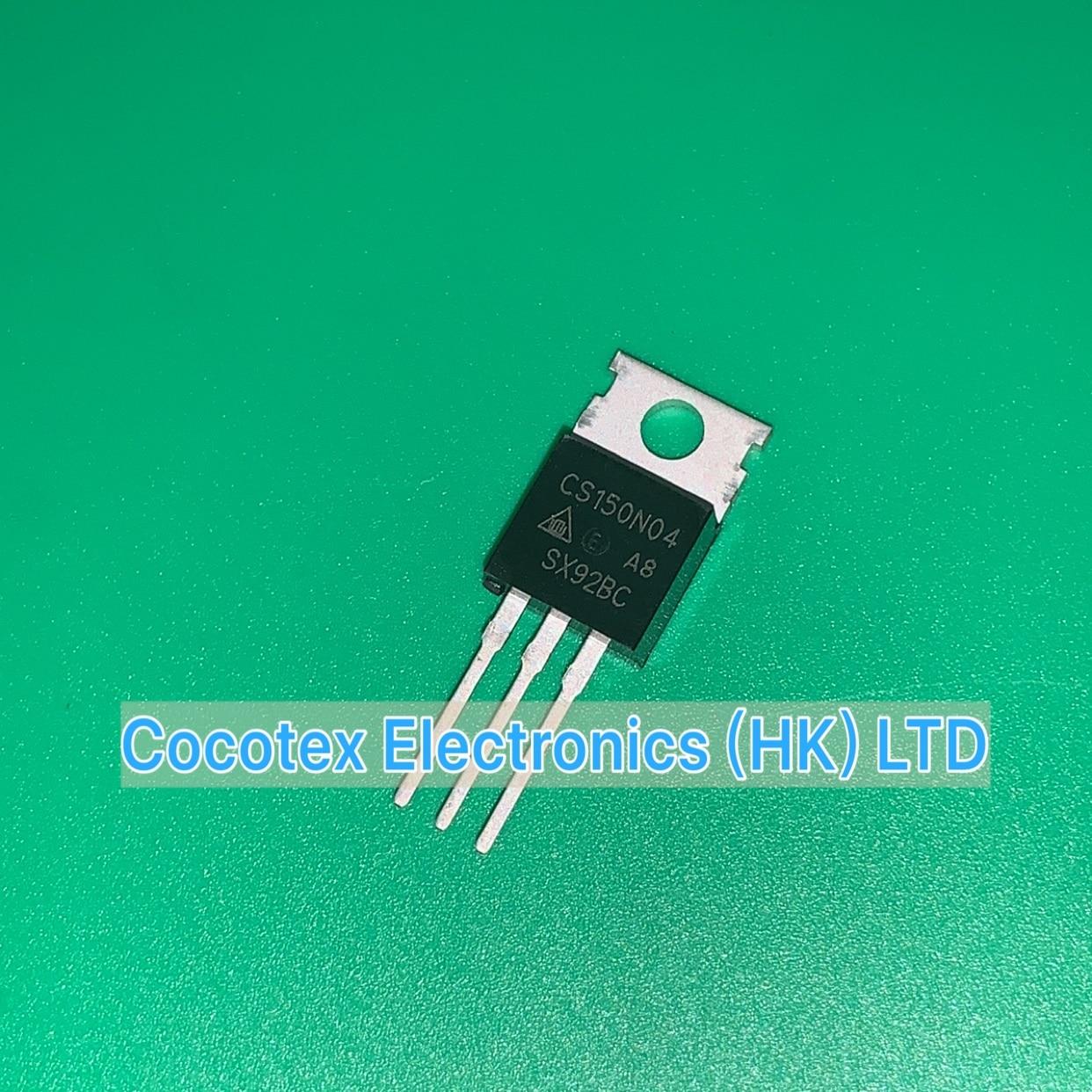 12pcs/lot CS150N04A8 TO-220AB CS150N04 A8 N-CHANNEL ENHANCEMENT MODE POWER MOSFET CS 150N04A8