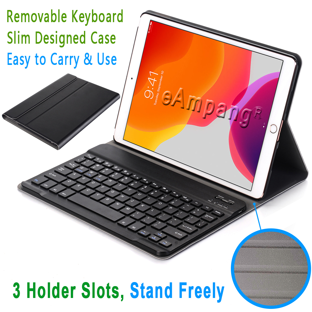 Keyboard iPad Case A2200 7th 10.2 iPad 3.0 for Bluetooth for A2198 Case Apple Generation