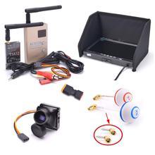 Набор FPV комбо Системы 1200TVL Камера+ 5,8 ГГц 600 мВт 48CH TS832 RC832S RC832+ 7 дюймов ЖК-дисплей 1024x600 монитор ips для съемкой от первого лица F450 S500