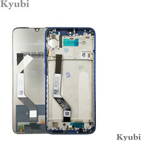 Kyubi LCD With Frame For Xiaomi Redmi Note 7 Digitizer Assembly LCD Display For Xiaomi Redmi Note 7 Pro Screen Newest