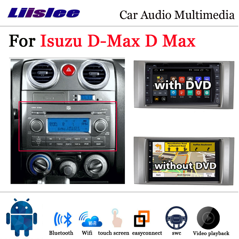 Car DVD Multimedia Player For Isuzu D-Max D Max 2009~2012 Radio Android GPS Navigation System Car Audio Installation Set image