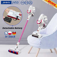 [Free Duty] JIMMY JV53 Handheld Cordless 425W Vacuum Cleaner 125AW 20kPa effective suction power VS JV83 Dust Collector VS V9