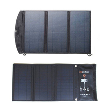 Solar cell 28W 21W sunpower solar charger battery Dual Port Waterproof Foldable Solar Cells panel for digital productsCharging