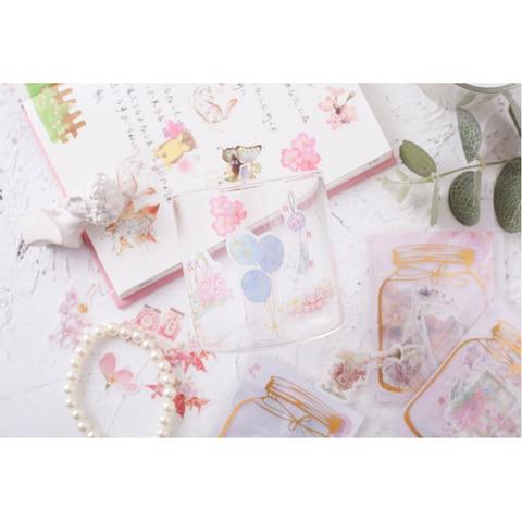 adesivos de vedacao de coracao japones 30 pacotes lote etiquetas decorativas para scrapbooking meninas e