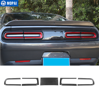 MOPAI Lamp Hoods for Dodge Challenger 2015+ Car Rear Tail Light Lamp Decoration Cover Accessories for Dodge Challenger 2015+