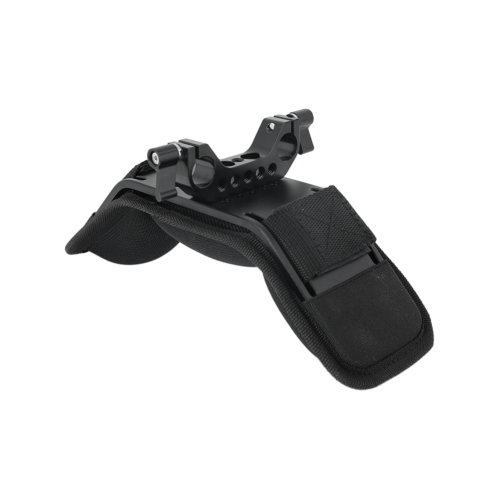Kayulin Steady Dslr Shoulder Mount Shoulder Pad for Video Camcorder Camera DV/DC Support System DSLR Rig (15mm Railblock)