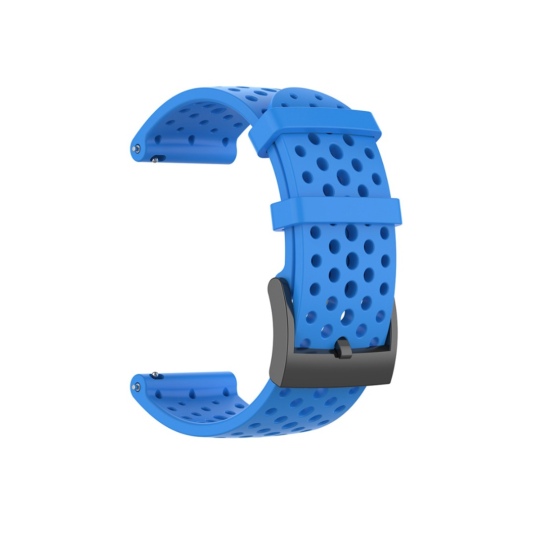 Silicone Band Strap For Suunto 9/D5/9 Baro/Spartan Sport Wrist HR Smart Watch Replacement Watchband Steel Pin Buckle Strap 24mm