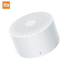 Original Xiaomi Mijia AI Bluetooth haut-parleur sans fil Portable Mini haut-parleur stéréo basse AI contrôle avec micro HD appel de qualité
