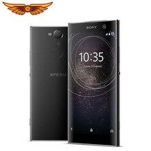 Sony Xperia XA2 ультра разблокированный Восьмиядерный 6,0 дюймов 4 Гб ОЗУ 32 Гб ПЗУ 23мп камера LTE отпечаток пальца Android мобильный телефон