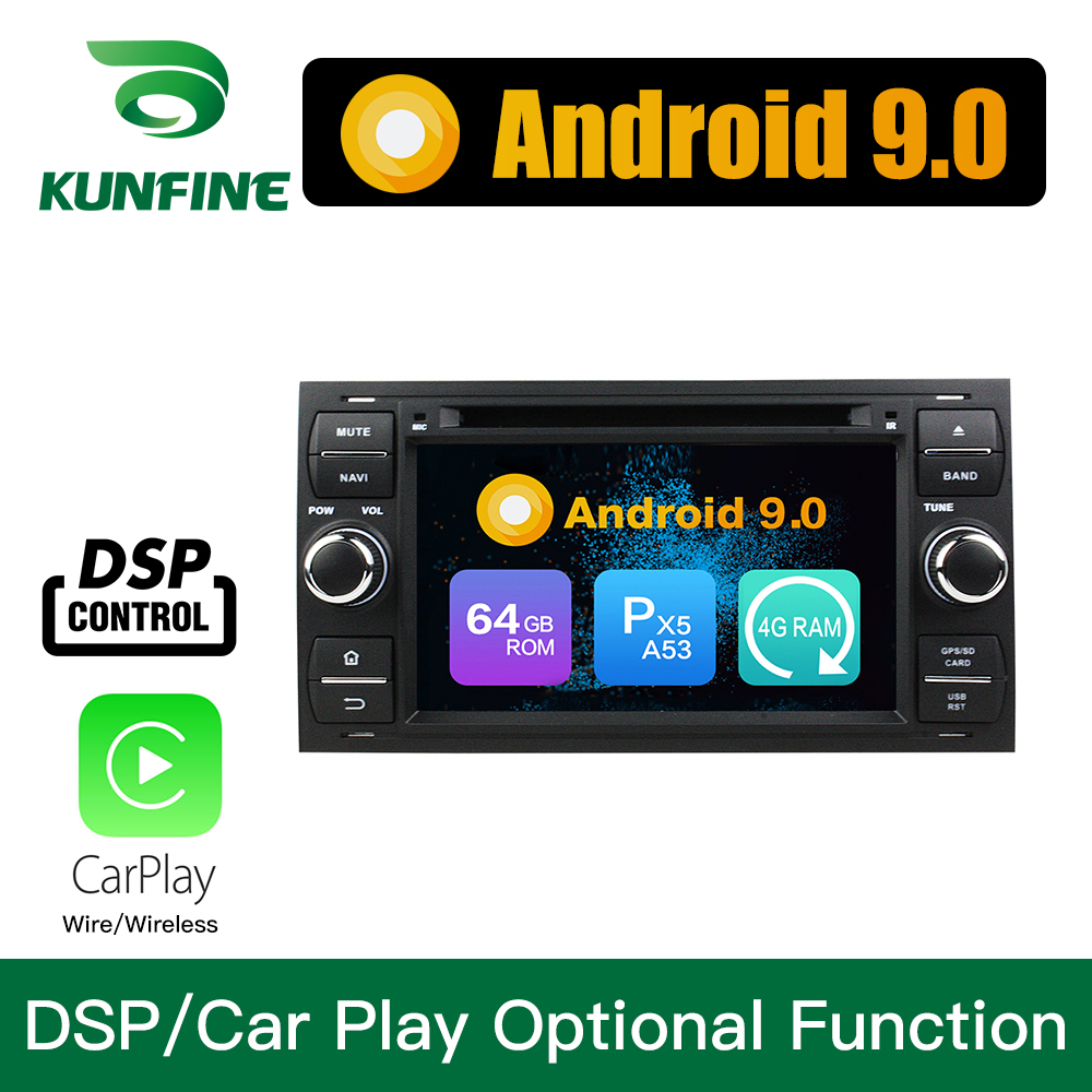 Android 9.0 Octa Core 4GB RAM 64GB ROM Car DVD <font><b>GPS</b></font> Multimedia Player Car Stereo for <font><b>Ford</b></font> <font><b>Focus</b></font> Mondeo S-<font><b>MAX</b></font> <font><b>C</b></font>-<font><b>MAX</b></font> Galaxy Raido image