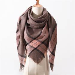 Новинка 2019 года на весну и зиму треугольники шарф для женщин плед теплый кашемировый шарфы женщин женские шали пашмины леди бандана